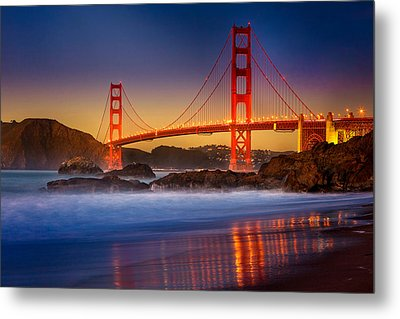 Golden Gate Metal Print by Jeana Childress