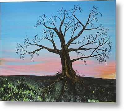 Golden Years Metal Print by Laura Moreland