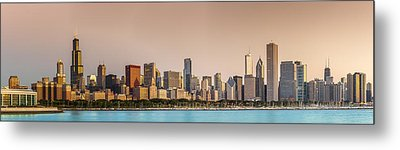 Good Morning Chicago Metal Print by Sebastian Musial