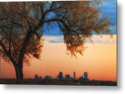 Good Morning Denver Metal Print by Darren  White