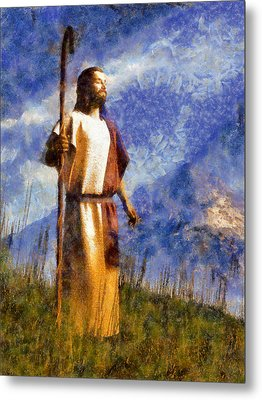 Good Shepherd Metal Print by Christian Art
