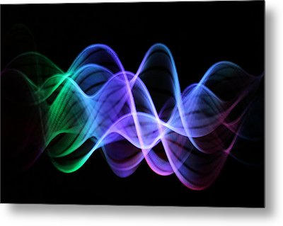 Good Vibrations Metal Print by Dazzle Zazz