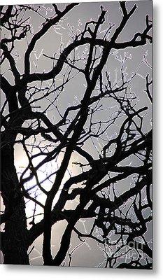 Goth Tree Metal Print by First Star Art