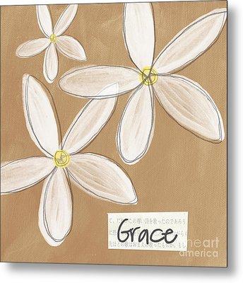 Grace Metal Print by Linda Woods
