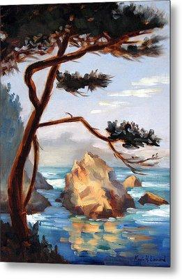 Graceful Pine Pt. Lobos Metal Print by Karin  Leonard