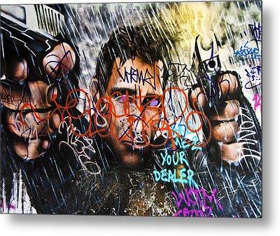Graffiti 03 Metal Print by Svetlana Sewell
