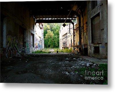 Graffiti Alley 1 Metal Print by Jacqueline Athmann