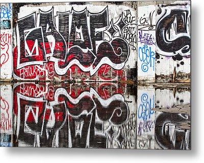 Graffiti Metal Print by Carol Leigh