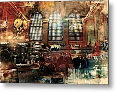 Grand Central Terminal 100 Years Metal Print by Diana Angstadt