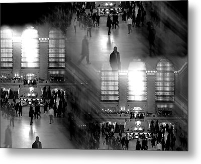 Grand Concourse Metal Print by Diana Angstadt