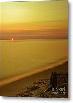 Grand Haven Sunset II Metal Print by Will Cardoso