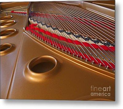Grand Piano Metal Print by Ann Horn