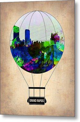 Grand Rapids Air Balloon Metal Print by Naxart Studio
