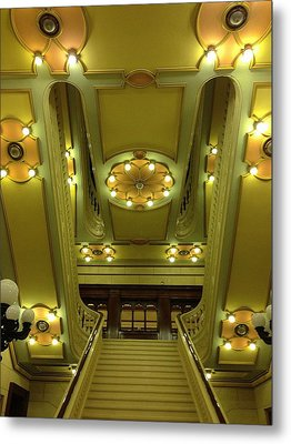 Grand Stairs Metal Print by Photolope Images