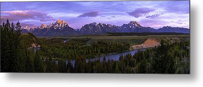 Grand Tetons Metal Print by Chad Dutson