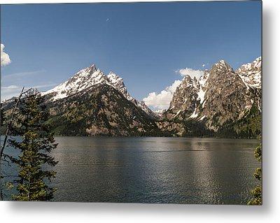 Grand Tetons On Jenny Lake 2 - Grand Teton National Park Wyoming Metal Print by Brian Harig