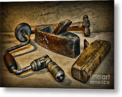 Grandfathers Tools Metal Print by Paul Ward