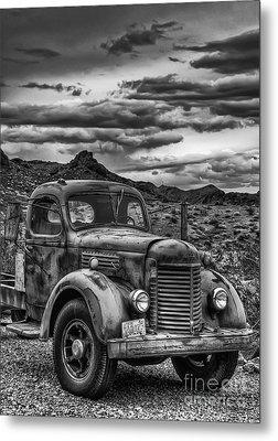 Grandpa's Ride Metal Print by Eddie Yerkish