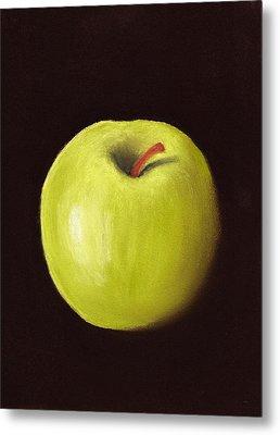 Granny Smith Apple Metal Print by Anastasiya Malakhova