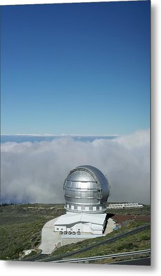 Grantecan Telescope Metal Print by Tony Craddock