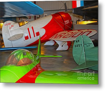 Granville Brothers Gee Bee R-1 Racer Metal Print by Gregory Dyer