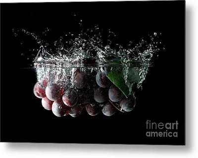 Grapes Metal Print by Andreas Berheide