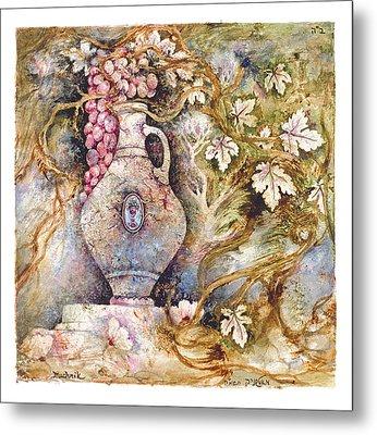 Grapevine Metal Print by Michoel Muchnik