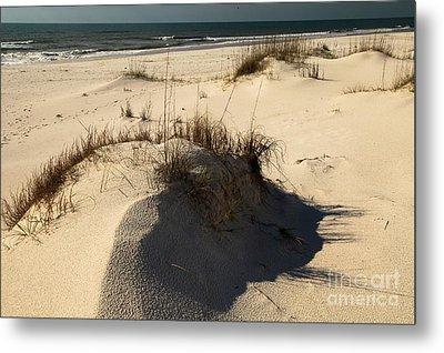 Grassy Dunes Metal Print by Adam Jewell