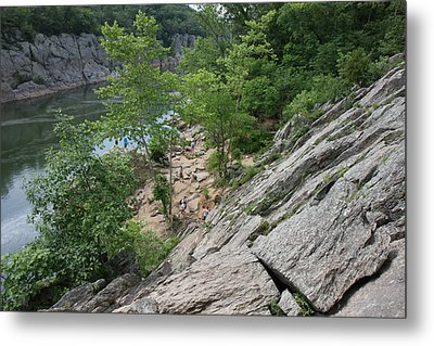 Great Falls Park - 121219 Metal Print by DC Photographer