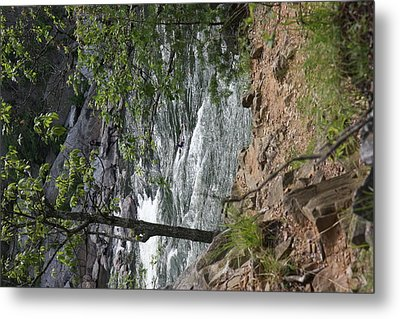 Great Falls Park - 121225 Metal Print by DC Photographer