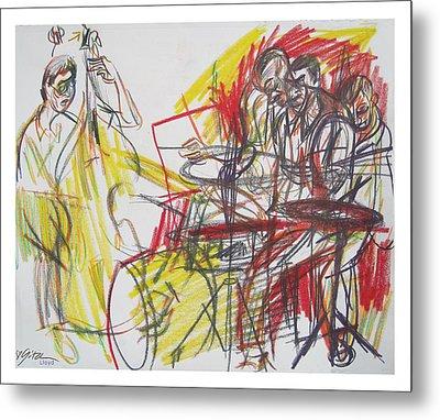 Great Jazz Metal Print by Gita Lloyd