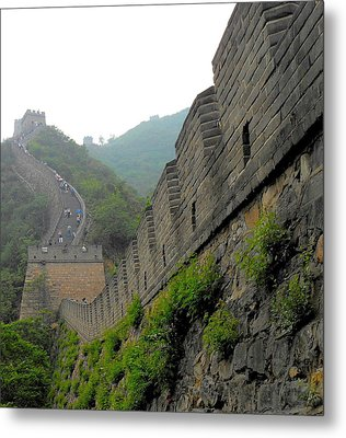 Great Wall 1 Metal Print by Kay Gilley
