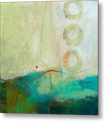 Green And Red 2 Metal Print by Jane Davies