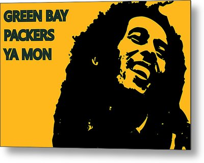 Green Bay Packers Ya Mon Metal Print by Joe Hamilton