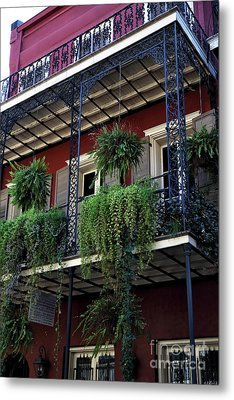 Greens In New Orleans Metal Print by John Rizzuto