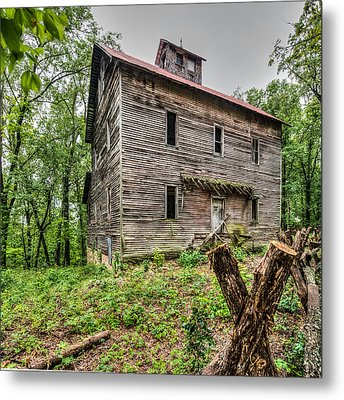 Greer Mill Metal Print by Paul Freidlund