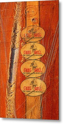 Greg Noll Metal Print by Ron Regalado