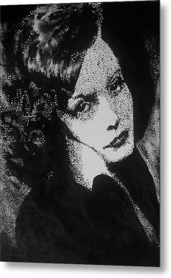 Greta Garbo Metal Print by Cherise Foster