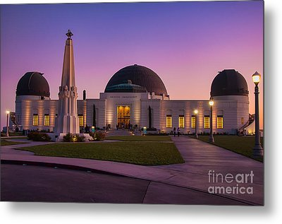Griffith Observatory Metal Print by Eddie Yerkish