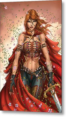 Grimm Fairy Tales Unleashed 04c Belinda Metal Print by Zenescope Entertainment