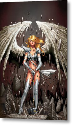 Grimm Universe 01b Metal Print by Zenescope Entertainment