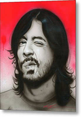 'grohl IIi' Metal Print by Christian Chapman Art
