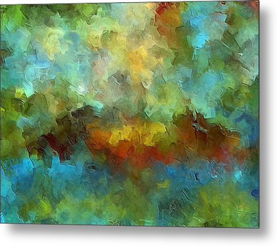 Grotto Metal Print by Ely Arsha