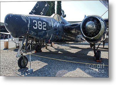 Grumman Tigercat F7f-3n  -  03 Metal Print by Gregory Dyer