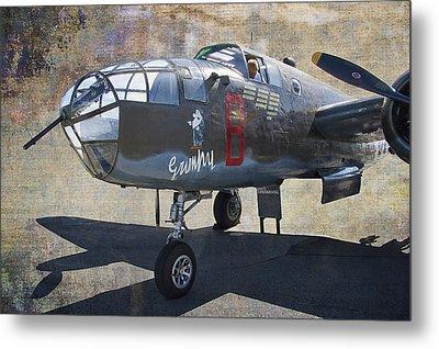 Grumpy  B-25 D Mitchell Bomber  /  43-3318 Metal Print by Daniel Hagerman