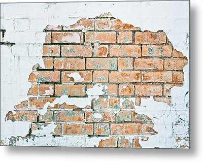 Grungy Wall Metal Print by Tom Gowanlock