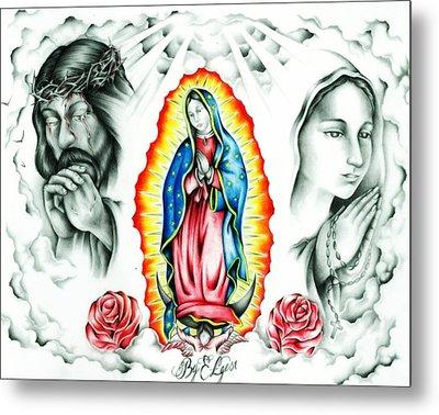 Guadalupe Metal Print by Eddie Egesi