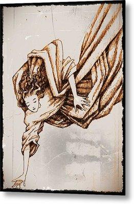 Guardian Angel Metal Print by Paulo Zerbato