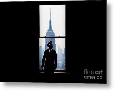 Guarding The Empire Metal Print by Az Jackson