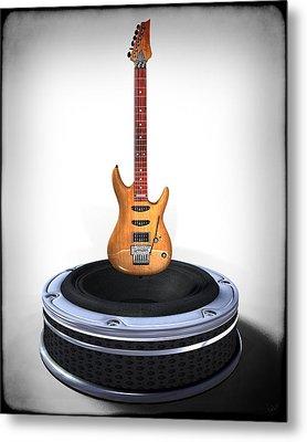 Guitar Desplay V1 Metal Print by Frederico Borges